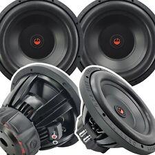 2x Gravity 12 Inch 6000 Watt Car Audio Compation Subwoofer 4 Ohm Dvc Power