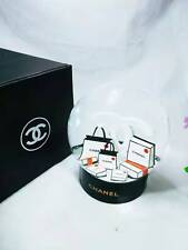 Black CHANEL Snow Globe 2019 rare Black CC gift Limited VIP(DHL)