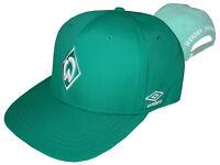 Umbro SV Werder Bremen Fan Cap grün SVW Basecap verstellbar Hut Kappe Mütze OSFA