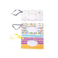 Toallitas de limpieza estuche transporte toallitas bolsa de cosméticos toallitaK