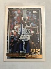 1992-93 Topps Basketball Gold #362 Shaquille O'Neal Rookie RC