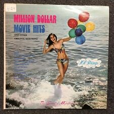 101 Strings Million Dollar Movie Hits LP Vinyl 1974 Alshire Lounge Jazz Stereo