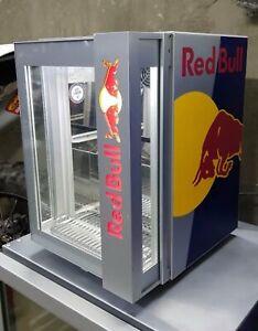 VERY RARE OEM Red Bull Mini Fridge For Pub Home Garden Garage Workshop 220V-240V