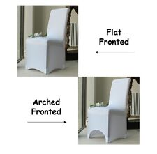 Chair Covers for Dining Room %7c Flat Arched %7c Party Wedding Banquet Stretch Fit