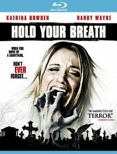 Hold Your Breath Terror Horror Bluray Urban Legend Halloween Katrina Bowden, New