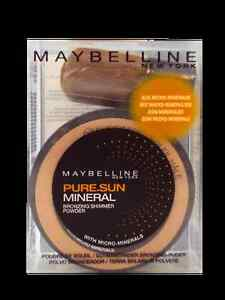 Maybelline Pure Sun Mineral Bronzing Shimmer Powder - 02 Sunkissed (8g)
