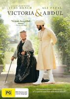 Victoria And Abdul DVD NEW Region 4 Judi Dench Ali Fazal
