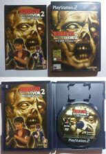Resident Evil : Survivor 2 Code : Veronica - Sony PlayStation 2 - PS2 - ITA Raro