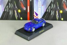 Kyosho 1/64 TVR Sagaris Blue BRITISH Minicar Collection 2009 Rare