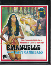EMANUELLE AND THE LAST OF THE CANNIBALS (Severin Blu-Ray) Laura Gemser - MINT!