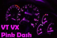 Pink Dash Cluster Light Kit Bulbs VT VX VU Commodore Berlina Calais LED