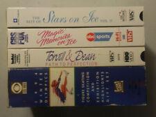 5 VHS lot Figure Skating Stars on Ice II Magic Memories I 1994 Olympic Highlight