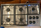 """Thermador 36"""" Stainless 5 Burner Gas Cooktop Model SGCS365RS photo"""