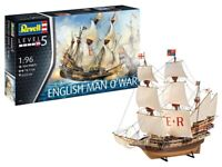 REVELL English Man O'War 1:96 Ship Model Kit 05429