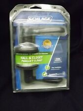 Schlage Hall and Closet Non-Locking Door Latch New in Container