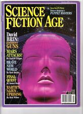 WoW! Science Fiction Age V2#5 👽Puppet Masters! Gallery! Books! Comics! Fiction!