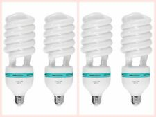 MK 4pcs 150W 5500K 110V Energy Save Photography  Lighting Continuous CFL Bulb
