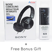 Sony Mdr-Zx110nc Noise Canceling Headphones/Headset - Black /Zx110nc