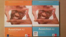 Aussichten A2 - Kursbuch und Arbeitsbuch mit Audio-CD's und DVD's