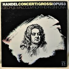 Handel Concerti Grossi Opus 3 George Malcolm Northern Sinfonia LP NM Vinyl