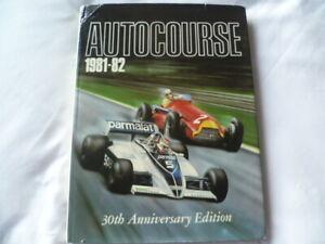 RARE Autocourse Annual : 1981-82 (Hardback)