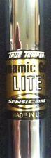 "3-PW TRUE TEMPER DYNAMIC GOLD LITE WITH SENSICORE S300 FLEX .355"" TIP IRON SHAFT"