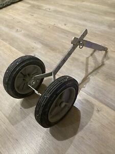 Mantis Tiller Transport Wheel Attachment. Rotavator,Rotovator,Cultivator