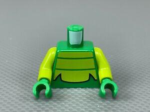 LEGO Green Minifig Torso Lime Chest Scorpion Minifigure Torso Scorpion on Back