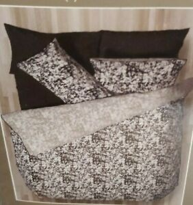 DOUBLE DUVET LUXURY BEAUTIFUL BEDDING SET REVERSIBLE COST £56 HOTEL QUALITY