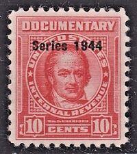 US Scott # R 392 10c 1944 Documentary Revenue Stamp USED XF GEM.