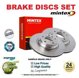 MINTEX Brake Discs Set for CHRYSLER SARATOGA 2.5 1989-1991