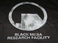 HALF LIFE 2 BLACK MESA T-SHIRT 4XL NEW - RESEARCH FACILITY