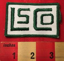 Unknown LSCO OR LS CO PATCH ~ Possibly Lamar State College Orange, TX 5DB4