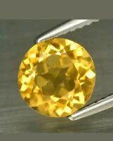 Cuarzo citrino 1.61 ct Brasil 7.7 mm