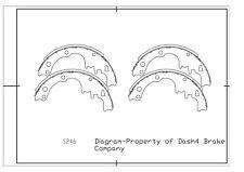 Drum Brake Shoe-Dash4 Front Dash 4 Brake B246 fits 1969 Chevrolet El Camino