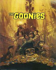 "THE GOONIES  MOVIE POSTER PIRATE TREASURE SEAN ASTIN JOSH BROLIN 24""X36 - NEW"