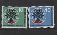 WEST GERMANY MNH STAMP DEUTSCHE BUNDESPOST 1960 WORLD REFUGEE YEAR SG 1240-1241