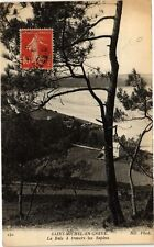 CPA Saint Michel en Gréves-La Baie á travers les Sapins (231293)