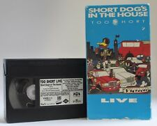 Too Short: SHORT DOG'S IN THE HOUSE - LIVE (1990, VHS) Ice Cube - A RARE CLASSIC