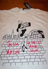 JESSE MALIN and the St. Marks Social ROCK THE RABBIT T-Shirt NEW PLAYBOY - (XL)