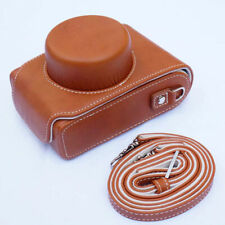 Leather Camera Hard case Bag with strap for Leica D-Lux 7 D-Lux7 D-Lux109