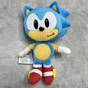 "2019 Sega SONIC THE HEDGEHOG 8"" Stuffed Plush Jakks Pacific"
