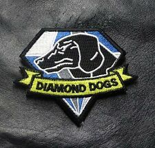 METAL GEAR SOLID DIAMOND DOGS DRK BLUE HOOK LOOP TACTICAL PATCH