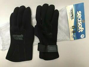Seasoft Hunter Scuba Diving 3/2/1mm Gloves Kevlar Reinforced XL