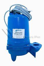 Goulds WS0312B Submersible Sewage Pump, 1/3 HP
