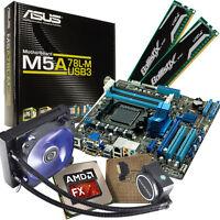 Aufrüst Bundle AMD FX-4300 4x 3,8GHz WaterCool 8GB DDR3 ASUS Mainboard M5A78L-M
