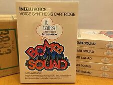 BOMB SQUAD -- for INTELLIVISION Video Game System FRESH CASE --  BRAND NEW NOS