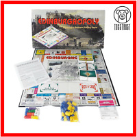 Edinburghopoly Board Game Edinburghs Business Trading Game Monopoly Fun