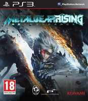 NEUF - jeu METAL GEAR RISING REVENGEANCE sur PS3 playstation 3 game spiel NEW
