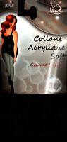COLLANT LAINE HIVER NOIR. taille XXL 52/54